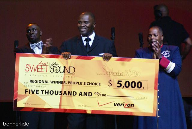 Greater Mt Calvary Men of Valor win People's Choice Award and Large Choir Honor