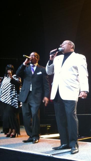 Kurt Carr on stage