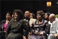 Caravans Gwen Morgan, Shirley Caesar, Deloris Washington and James Herndon
