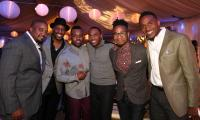 Pastor Jason Nelson, Isaac Carree, VaShawn Mitchell, Jonathon Nelson, Dewayne Woods and Ted Winn