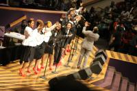 Kenny Lewis and One Voice bring the audience to their feet