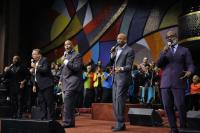 Marvin Winans is joined by Bebe Winans, Donnie McClurkin, and Howard Smith