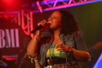 Kierra Sheard performs Jesus Is A Love Song in honor of Twinkie Clark