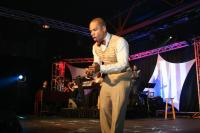 Co-host Kirk Franklin