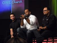 Peter Wilson of Hillsong UK, Aaron Lindsey and Israel panel discussion